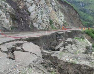 GRA pide al gobierno restablecer carretera de acceso a provincia de La Unión