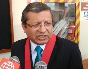 Zamalloa enfático asegura se va sancionar a juez de paz acusado de pedir coima