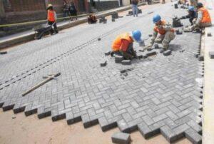 Municipalidades distritales evalúan repavimentar vías con adoquines de concreto