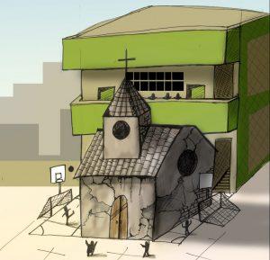 El colegio que se enfrentó al arzobispo Javier del Río