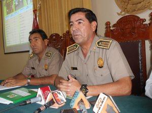 Por decisión policial se suspendió operación de grúas en Arequipa