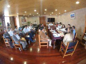 Pobladores de Pampamarca exigen solución al problema vial
