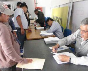 Promuvi: En mayo recibirán expedientes para adjudicación de lotes
