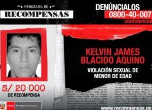 Son 43 presuntos violadores los que continúan inubicables en Arequipa
