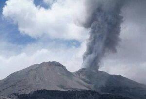 OVI emite alerta por actividad eruptiva del volcán Sabancaya