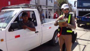 Operativo policial busca recuperar espacios públicos en Mariano Melgar