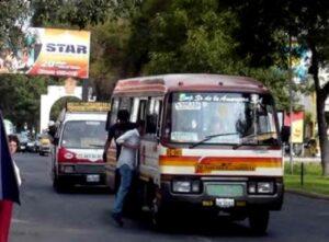 Instalan mesas de diálogo para evaluar problemática del transporte en distritos
