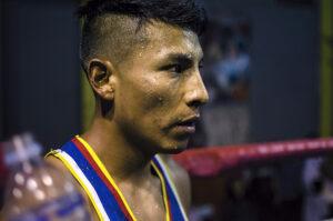 La apacible mirada del boxeador