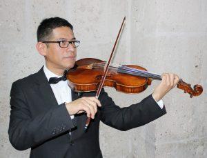 Solistas en viola y fagot con la Orquesta Sinfónica de Arequipa