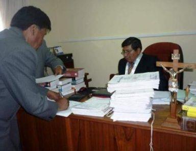Presidente de la Corte Superior pide la creación de juzgados anticorrupción