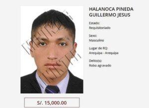 PNP detuvo a otro de la lista de los más buscados de Arequipa