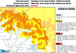 Senamhi advierte que se producirán nevadas en zonas altas de la región