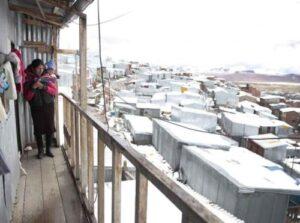 Arequipa alcanzó la temperatura más baja en lo que va del presente año