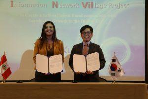 GRA firma convenio con Corea para crear centros capacitación en TICs