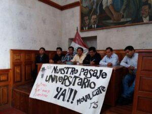 Anuncian protesta contra del alza del pasaje público para el 22 de junio