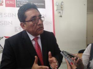 Superintendente de SBN: Terrenos del Promuvi deben estar saneados legalmente