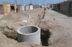 Asentamiento humano no cuenta con desagüe porque Cerro Verde no les cumplió