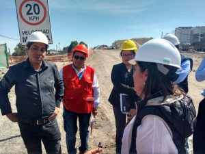 Contraloría y congresista Aramayo realizan inspección a Variante de Uchumayo