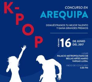 Embajada de Corea organiza concurso K-POP AQP 2017