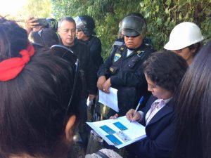 Vecinos de Vallecito impidieron tala de árboles ordenada por la MPA para hacer vía