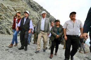 FOTOS. PPK llegó a Atico y se anuncia desde el 28 paso vehicular restringido en Panamericana