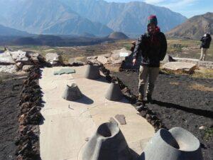 Inauguran mirador de Jojoloche en el Valle de los Volcanes