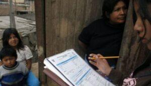 INEI confirma realización de Censo Nacional el 22 de octubre