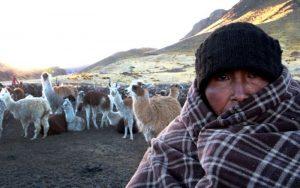 Temperatura nocturna descenderá hasta -20°C en más de 50 provincias de la sierra sur