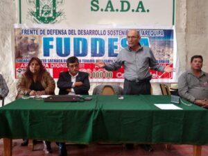 Exigen anulación de convenio que entrega aguas de La Enlozada a Cerro Verde