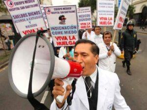 Huelga médica dejaría setenta mil soles diarios en pérdidas en la región