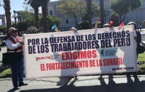 Fiscalizadores de Sunafil inician huelga indefinida por falta de personal