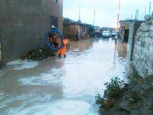 Lluvias dejaron doce mil viviendas inhabitables en la región