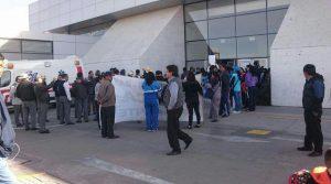 Maestros intentaron tomar el aeropuerto Rodríguez Ballón de Arequipa