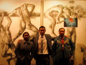 """Muestra individual del artista René Cusi """"El Origen de la Tragedia"""""""