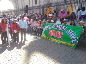 Docentes continuarán en huelga hasta que Gobierno atienda sus pedidos