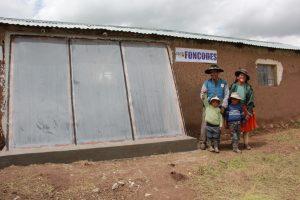 Acondicionarán 1,100 viviendas rurales para enfrentar heladas