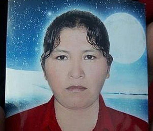 Lourdes Jacobo fue encontrada carbonizada.