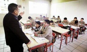 Descontarán sueldos a maestros que no dicten clase a partir del lunes