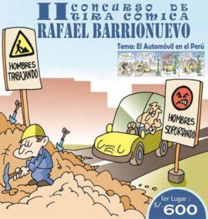 """II Concurso """"Rafael Barrionuevo"""" revalora trabajo artístico de historietistas"""