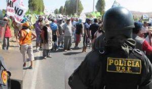 Tía María: Fiscalía explica archivamiento de asesinato de policía