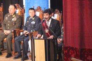 Lluvia de promesas en discurso de Alfredo Zegarra por aniversario de Arequipa