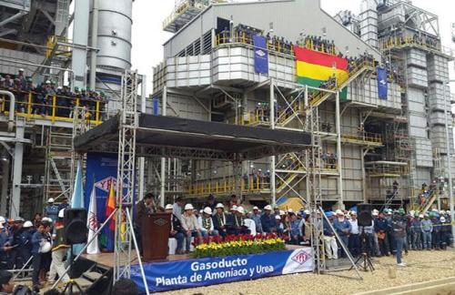 Bolivia pretende realizar negocios con exportaciones de urea.