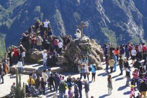 Más de 33 mil turistas visitaron el valle del Colca en agosto