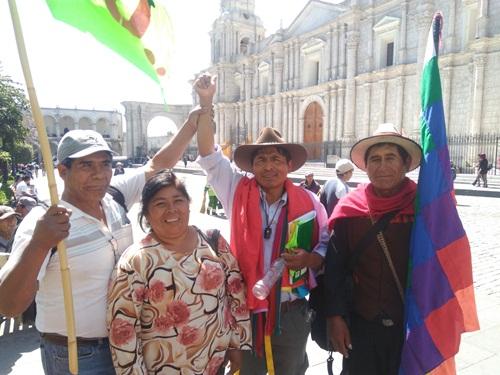 protestas contra minería