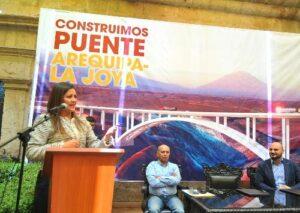 Puente de la vía Arequipa – La Joya costará 107 millones de soles