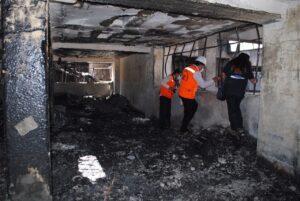 FOTOS. Fiscales inician investigación penal y prevención en zona del incendio
