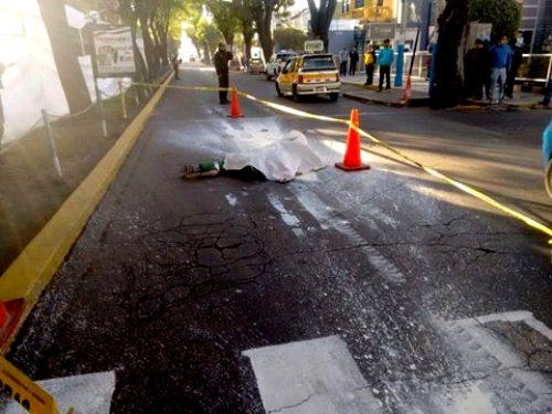 Accidente en la Av. Ejercito.