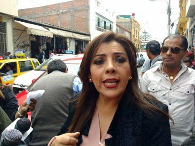 """Congresista Alejandra Aramayo: """"Tía María debe ir pero sin Southern"""""""