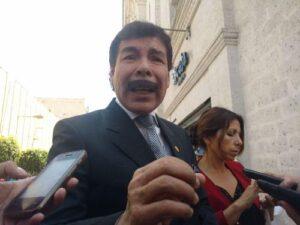 Alfredo Zegarra: Vacancia de PPK no perjudicará el desarrollo de Arequipa