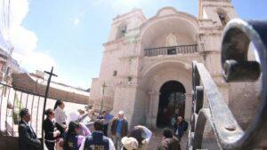 Restaurarán templo de Chivay dañado por terremoto